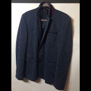 Zara Man Blue Blazer Size 46